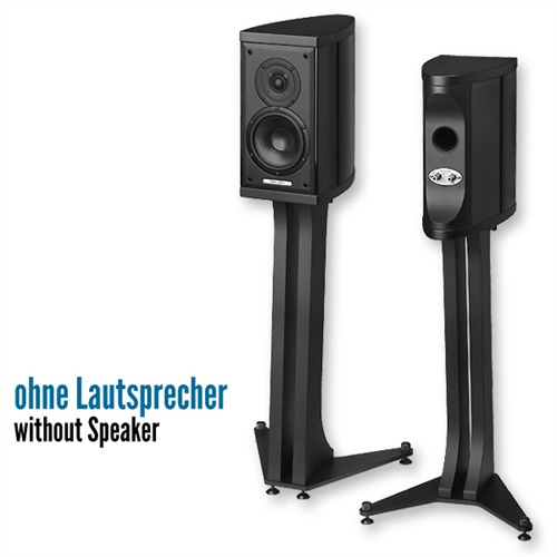 sonus faber liuto monitor st nder f r lautsprecher schwarz 1 paar. Black Bedroom Furniture Sets. Home Design Ideas