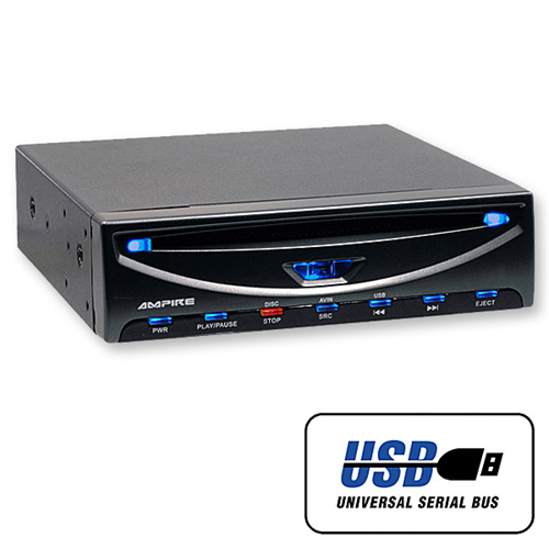 ampire dvd player dvx104 mit usb port f r hdd mp3 jpeg. Black Bedroom Furniture Sets. Home Design Ideas