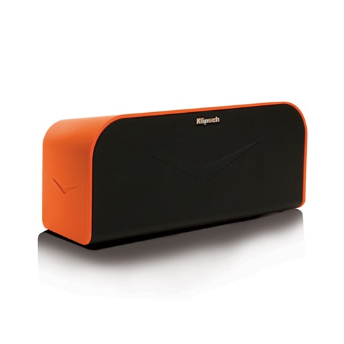 klipsch kmc 1 tragbares kabelloses lautsprecher system 40w orange. Black Bedroom Furniture Sets. Home Design Ideas