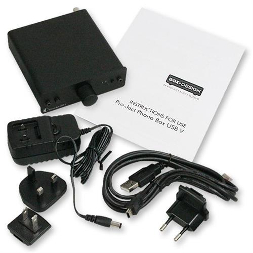 Pro-Ject Phono Box USB V Black