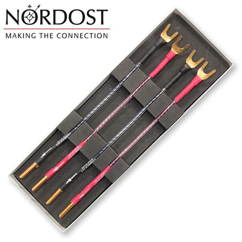 NORDOST-Norse-Bi-Wire-Kabelbrucke-Jumper-mit-Banana-auf-Kabelschuh-15cm-2-Paar