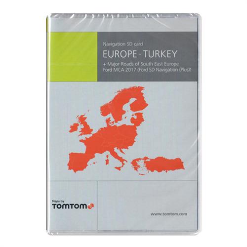 tele atlas europa mrsee major roads of south east. Black Bedroom Furniture Sets. Home Design Ideas