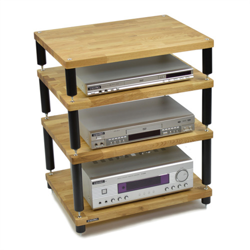atacama uk apollo storm 6 hifi rack 4 ebenen helle massive. Black Bedroom Furniture Sets. Home Design Ideas