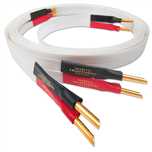 Nordost White Lightning - Lautsprecherkabel (Banana-Stecker / 2 x 2 ...